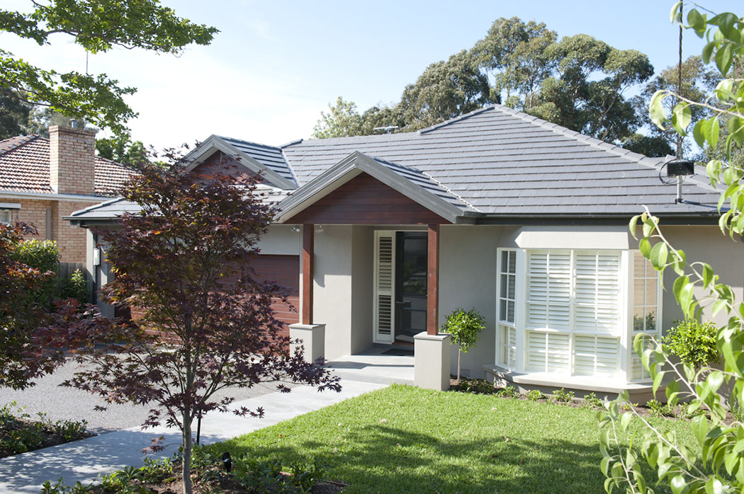 California bungalow extension, Hawthorn