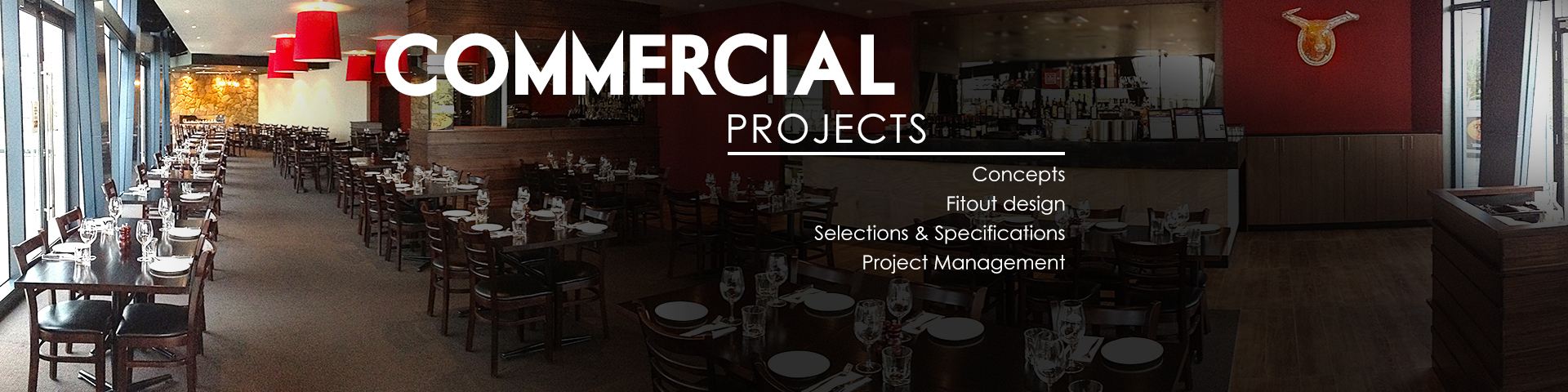 Commercial projects banner
